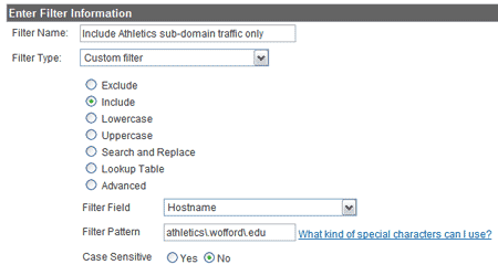 subdomain filter 7 Google Analytics Filters To Help Understand Your Visitors