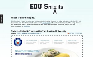 edusnippets 300x183 Inspiring Design for Higher Ed